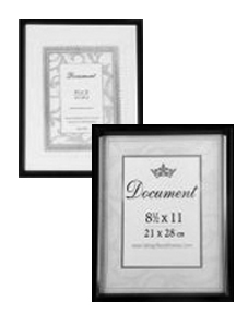 Photo Frames Document 8.5 x 11""