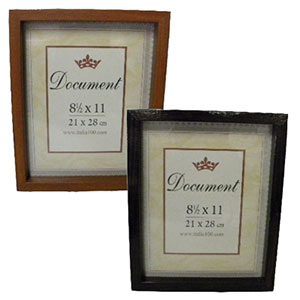 "8.5x11"" Document Frames"
