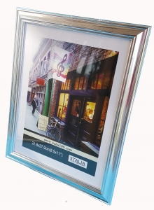 "8.5x11"" PS Frame Silver color"