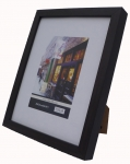 "5x7"" wood Frame SQ Black"