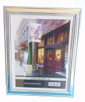 "5x7"" PS Frame Silver color"