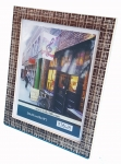 "8x10"" PS Frame Brown"