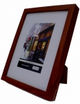 "5x7"" wood Frame SQ D.Brown"